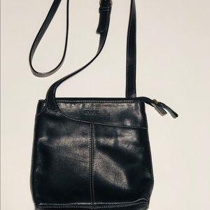 Fossil vintage crossbody Leather bag